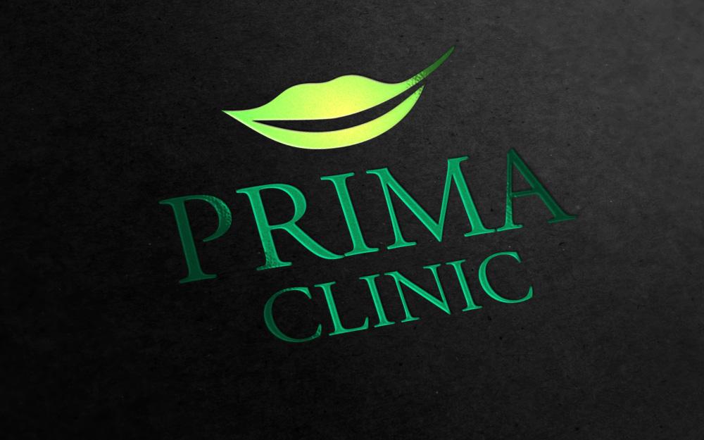 Дизайн логотипа Prima Clinic