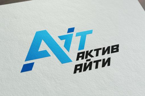 Logo design for Aktiv IT
