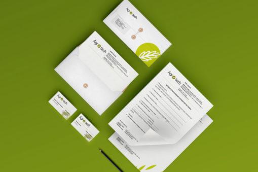 Logo & identity design for Agrotech