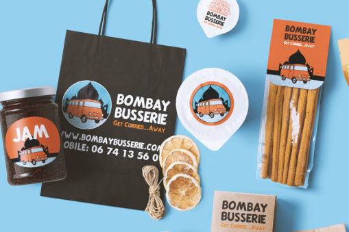 Logo design for Bombay Busserie