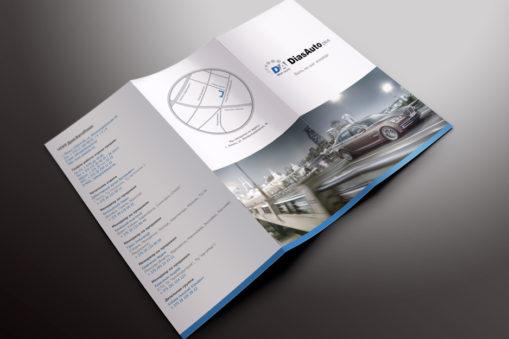 Brochure design for auto parts supplier
