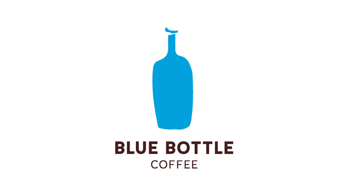 синий логотип